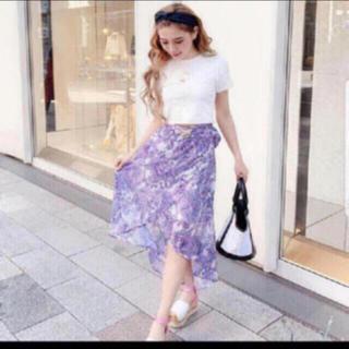 レディー(Rady)のRady ペイズリーラップスカート♡(ひざ丈スカート)