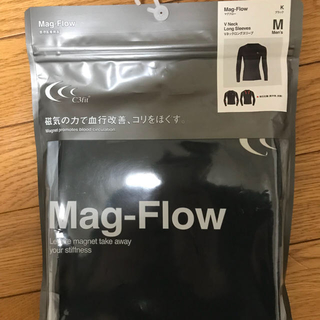 シースリーフィット(C3fit)のc3fit  メンズ シャツ マグフロー  Mサイズ 黒色(トレーニング用品)