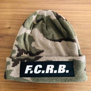 エフシーアールビー(F.C.R.B.)の★FCRB★ニットキャップ 美品 Bristol ビーニー(ニット帽/ビーニー)