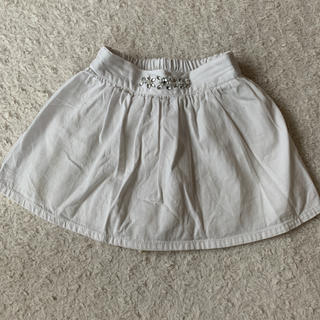 【110cm】ビジュー付きスカート(スカート)