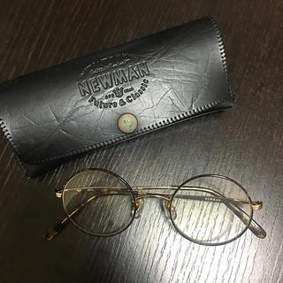 ビームス(BEAMS)のNEW MAN beams 眼鏡 ベッコウ(サングラス/メガネ)