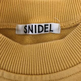 スナイデル(snidel)の新品 スナイデル トレーナー(トレーナー/スウェット)