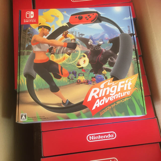ニンテンドースイッチ(Nintendo Switch)のどんきちゃん様専用  リングフィットアドベンチャー16台(家庭用ゲームソフト)