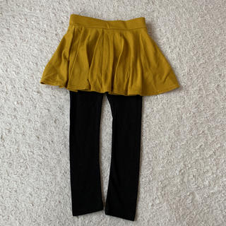 【100cm】スパッツ付きスカート(スカート)