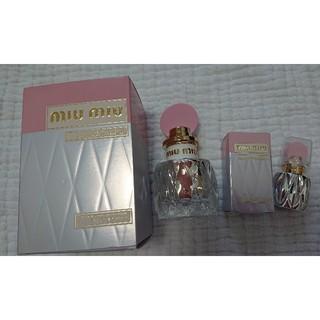 ミュウミュウ(miumiu)の新品同様 ミュウミュウ フルールダルジャン 香水(香水(女性用))