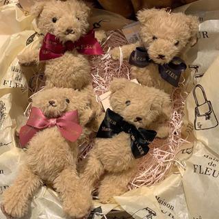 メゾンドフルール(Maison de FLEUR)の☆ メゾンドフルール ベア 新品 ピンク(チャーム)