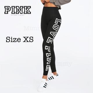 Victoria's Secret - PINK♡ハイウエスト コットン レギンス♡ピュアブラック