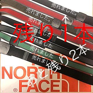 ザノースフェイス(THE NORTH FACE)の【新品】THE NORTH FACE   ザ・ノースフェイス ベルト(ベルト)
