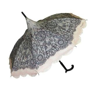 シャンタルトーマス(Chantal Thomass)のChantal Thomass ピンク×ブラック 日傘兼用 CT772bis(傘)