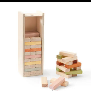 ザラホーム(ZARA HOME)のキッズコンセプト  ジェンガ ドミノ倒し クーゲルバーン 木製 北欧おもちゃ(知育玩具)