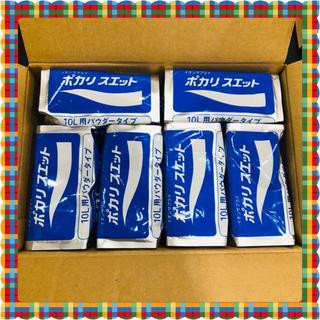 オオツカセイヤク(大塚製薬)のポカリスエット10L用 顆粒 6袋(ソフトドリンク)