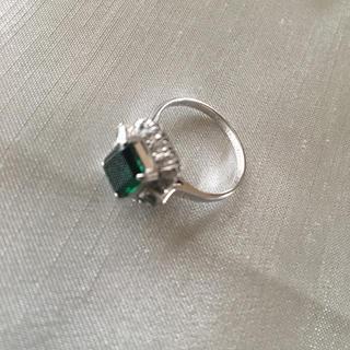 指輪 リング ホワイトゴールド K14(リング(指輪))