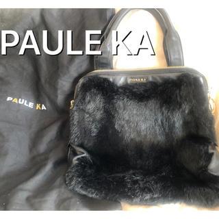ポールカ(PAULE KA)の【プレゼント♡】ポールカ バッグ PAULE KA フェイクファーバッグ (ショルダーバッグ)