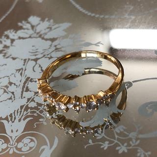 ティファニー(Tiffany & Co.)の#18K ダイヤモンドリング 0.4ct(リング(指輪))