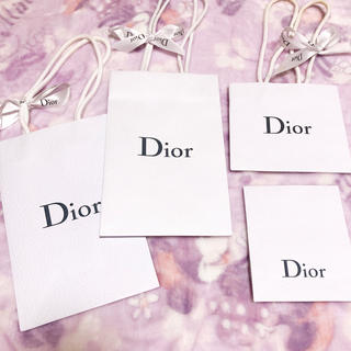 クリスチャンディオール(Christian Dior)のディオール  ショッパー(ショップ袋)