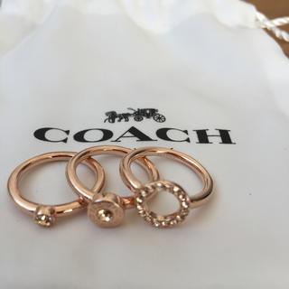 コーチ(COACH)のコーチ リング USサイズ5号(リング(指輪))