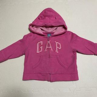 ベビーギャップ(babyGAP)のbabygap クマ耳 パーカー(ニット/セーター)
