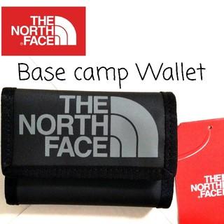 ザノースフェイス(THE NORTH FACE)のTHENORTHFACE Base camp Wallet 黒 海外限定★新品(折り財布)
