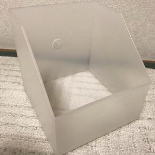 ムジルシリョウヒン(MUJI (無印良品))の無印良品 CD収納ボックス ホワイト(CD/DVD収納)