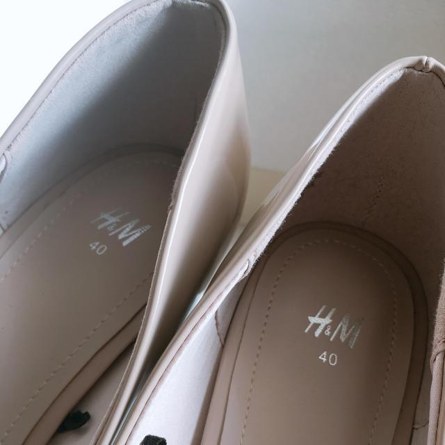 H&M(エイチアンドエム)のH&M パンプス ハイヒール 大きいサイズ レディースの靴/シューズ(ハイヒール/パンプス)の商品写真