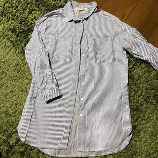 ザラキッズ(ZARA KIDS)の美品 ZARA ガールズ 140 シャツワンピース ロングシャツ(ワンピース)