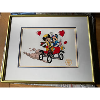 ディズニー(Disney)のディズニー セル画 ミッキー ミニー(絵画/タペストリー)