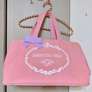 サマンサベガ(Samantha Vega)の再★SamanthaVega*キャンバス大トートバッグ♡ピンク(トートバッグ)