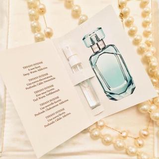 ティファニー(Tiffany & Co.)のTiffany 香水サンプル インテンス 2個セット 未使用(香水(女性用))