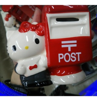 ハローキティ(ハローキティ)のハローキティ郵便局貯金箱サンリオ(置物)