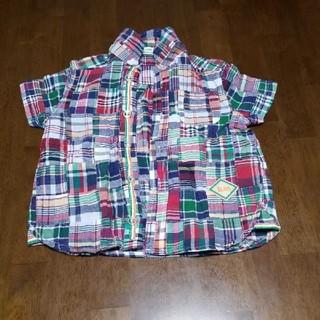 ビームス(BEAMS)のBEAMS miniチェックシャツ 90(Tシャツ/カットソー)