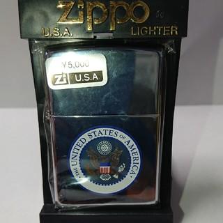 ジッポー(ZIPPO)のZippo U.S.A 2003年03月 真鍮製 シンプルなジッポ 未使用(その他)