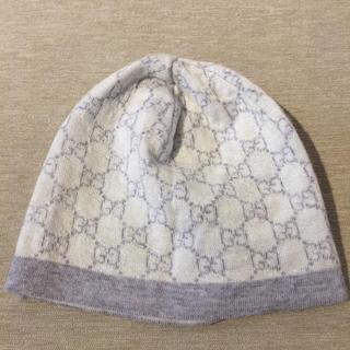 グッチ(Gucci)の【GUCCI】帽子 ベビーパータンウールハット(帽子)