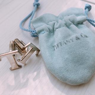 Tiffany & Co. - ティファニー T字ロゴ カフス