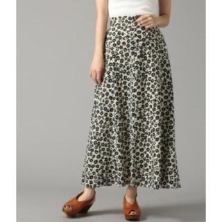 ローリーズファーム(LOWRYS FARM)のローリーズファーム ハナクルミボタンAラインスカート(ロングスカート)