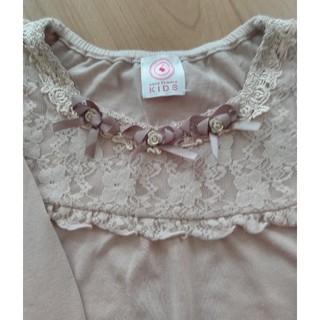 アクシーズファム(axes femme)のジャンク品 120CM 長袖Tシャツ(Tシャツ/カットソー)