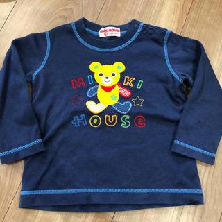 ミキハウス(mikihouse)のミキハウス ロンT 長袖 80(シャツ/カットソー)