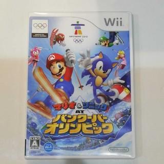 Wii - マリオ&ソニック AT バンクーバーオリンピック