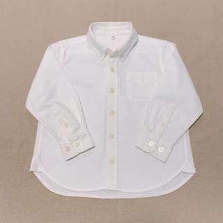 ムジルシリョウヒン(MUJI (無印良品))の無印良品 オックスフォード ボタンダウン シャツ 100㎝(ブラウス)