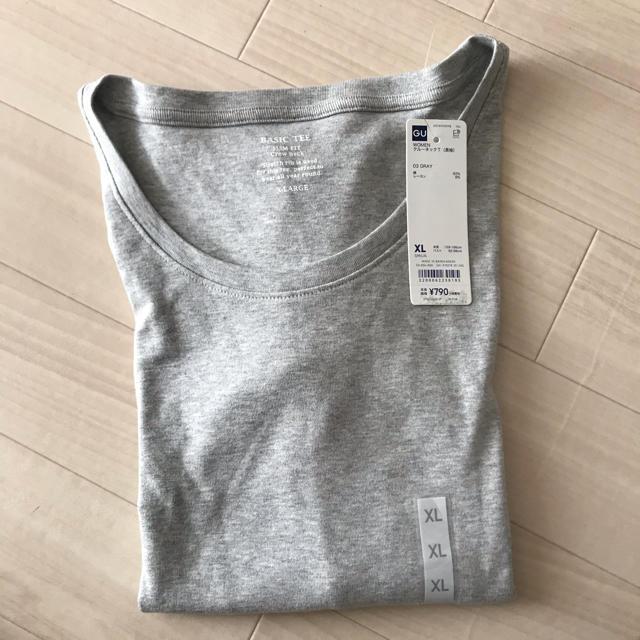 GU(ジーユー)のgu クルーネックT(長袖) レディースのトップス(Tシャツ(長袖/七分))の商品写真