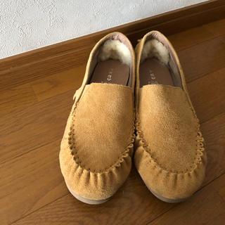 サヴァサヴァ(cavacava)の本革  モカシン  cava cava  24(ローファー/革靴)