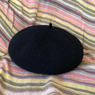 サマンサモスモス(SM2)の【新品 未使用】今季★SM2★サマンサモスモス  ehka sopo ベレー帽 (ハンチング/ベレー帽)