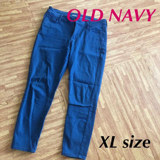 オールドネイビー(Old Navy)のオールドネイビー XL ブルー アンクルパンツ(カジュアルパンツ)