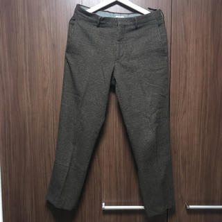 miumiu - man's line miu miu wool slacks