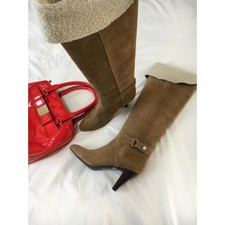 ストロベリーフィールズ(STRAWBERRY-FIELDS)の美品 ストロベリーフィールズ ブーツ 23cm(ブーツ)