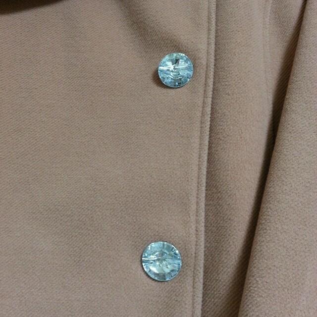 ピンクのコート レディースのジャケット/アウター(ロングコート)の商品写真