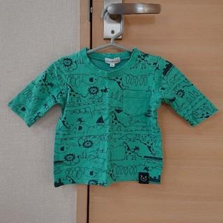 サンカンシオン(3can4on)のベビー七分袖Tシャツ80(Tシャツ)