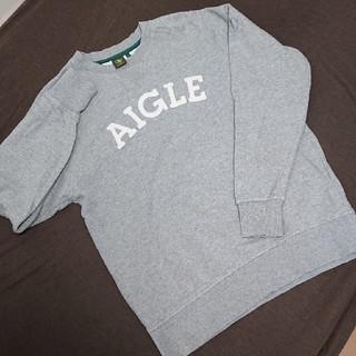 エーグル(AIGLE)のAIGLE メンズトレーナー L(スウェット)