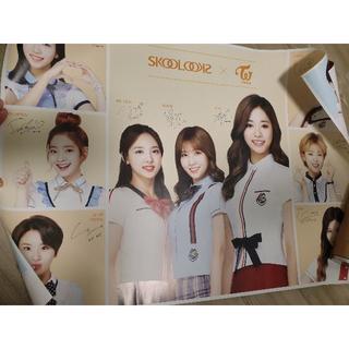 ウェストトゥワイス(Waste(twice))のTWICE SF9 韓国非売品ポスター 限定版(アイドルグッズ)