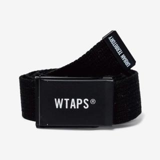 ダブルタップス(W)taps)の【送料込】WTAPS  ベルト ブラック(ベルト)