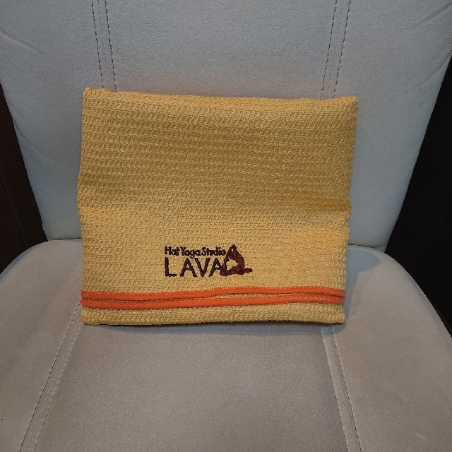 LAVA ラグ イエロー スポーツ/アウトドアのトレーニング/エクササイズ(ヨガ)の商品写真